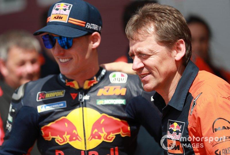 Pol Espargaro, Red Bull KTM Factory Racing, Mike Leitner, KTM