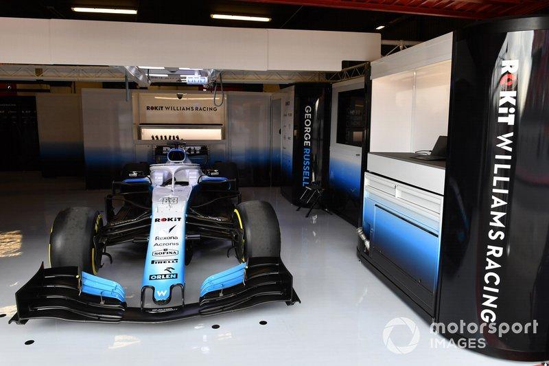 Williams en el garaje