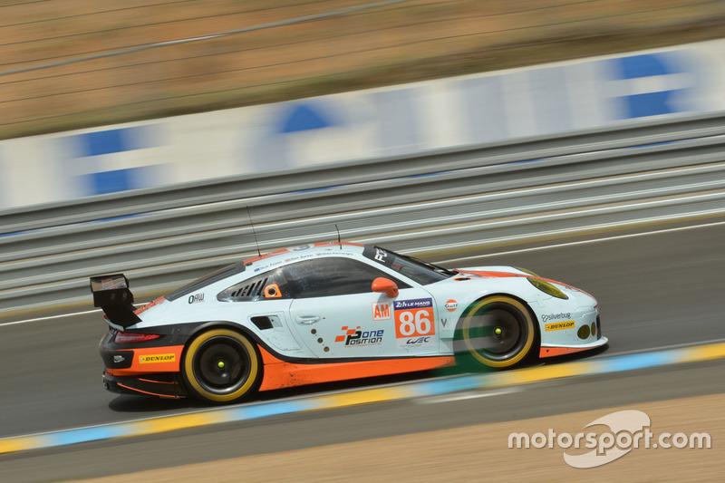 LMGTE-Am: #86 Gulf Racing, Porsche 911 RSR