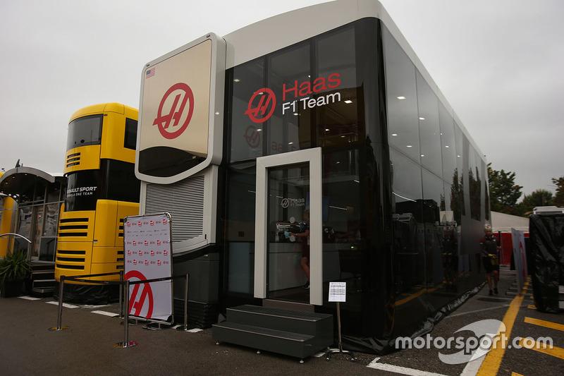 Motorhome: Haas F1 Team