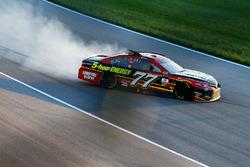 Erik Jones, Furniture Row Racing Toyota in trouble