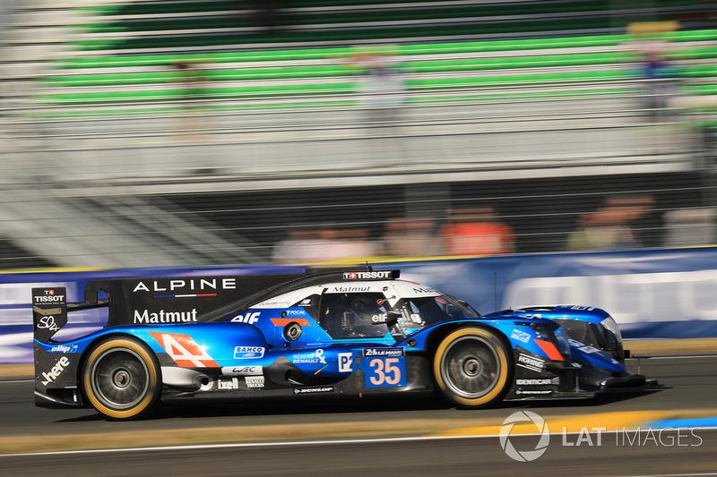 No carro #35, André Negrão foi o quinto colocado no geral e quarto da LMP2.