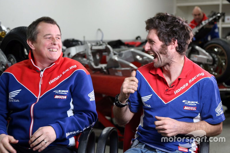 John McGuinness y Guy Martin, Honda Racing