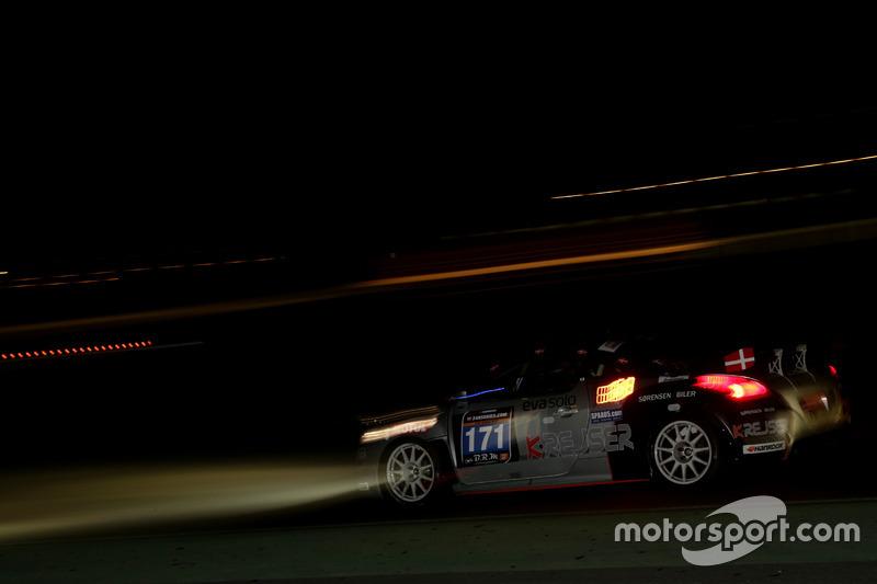 #171 Team Eva Solo/K-Rejser Peugeot RCZ: Jacob Kristensen, Jan Engelbrecht, Thomas Sörensen, Jens Mö