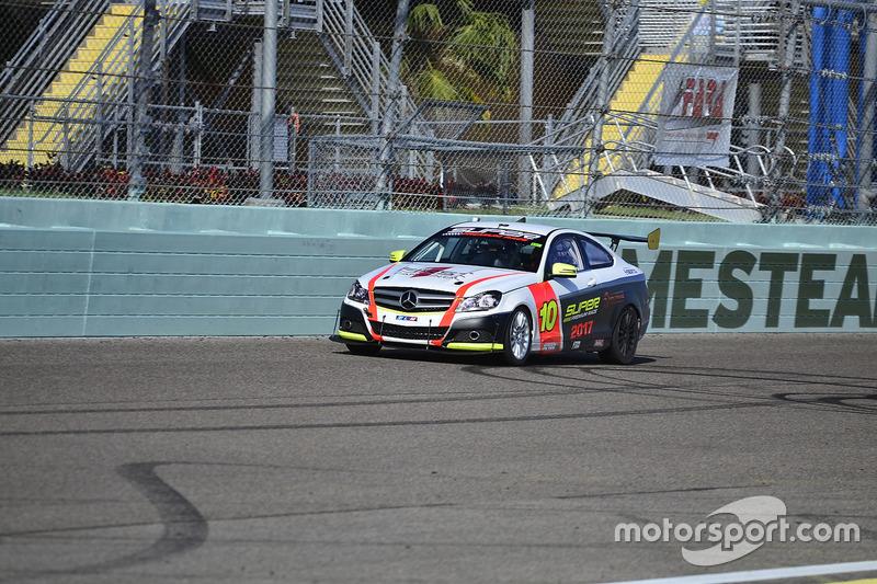 #10 MP2B Mercedes C350 driven by Nicolas Collazo & David Tuaty of TLM USA