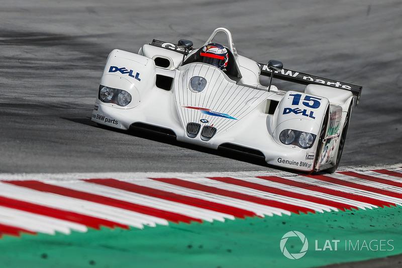 Герхард Бергер, BMW V12 LMR