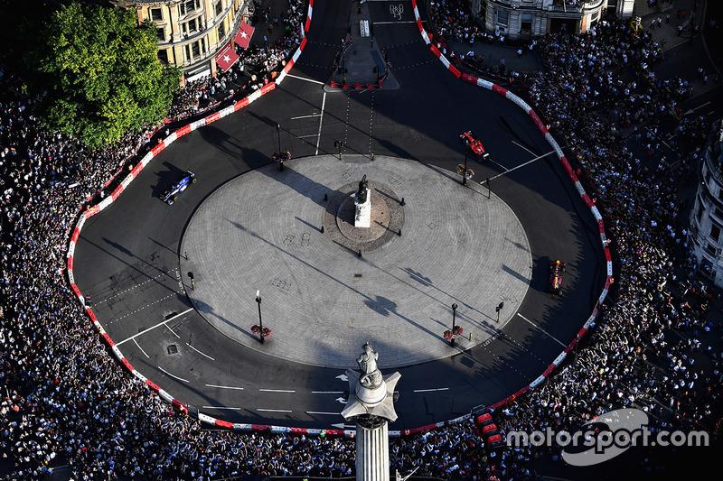 Havadan görünüm, F1 Canlı - Londra