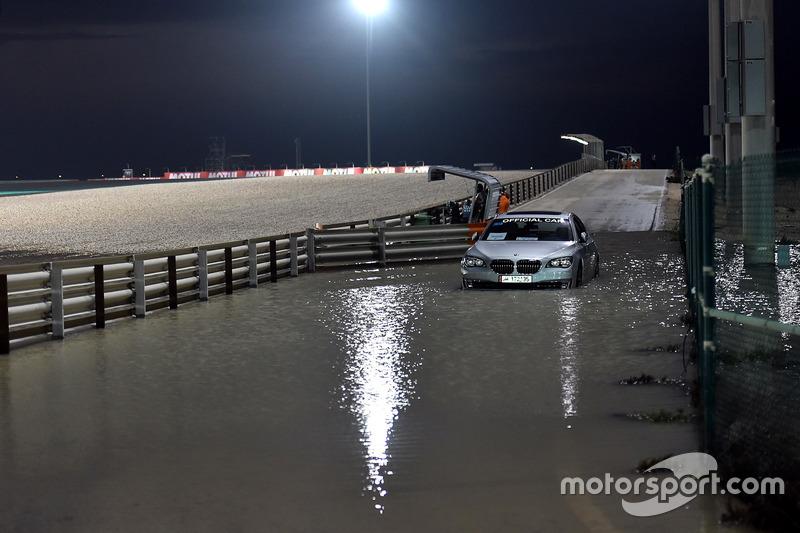 Lluvia y mojado en Qatar