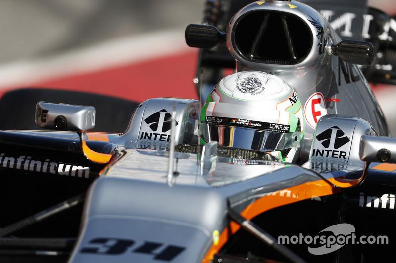 Alfonso Celis Jr., Force India VJM10, development driver