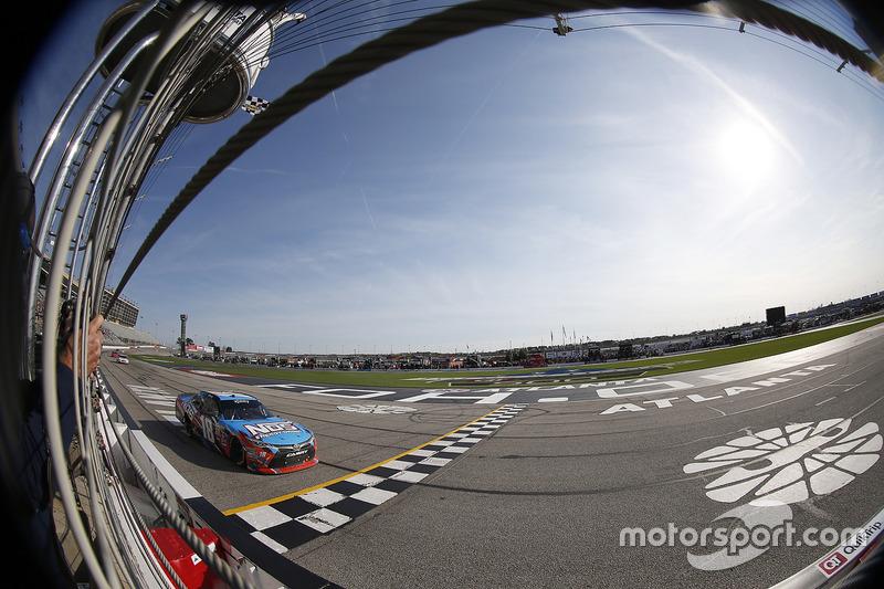 Sieg für Kyle Busch, Joe Gibbs Racing, Toyota