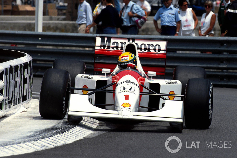 #3: Ayrton Senna (65 Pole-Positions)