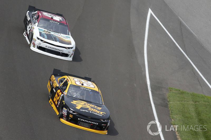 Brendan Gaughan, Richard Childress Racing Chevrolet Tyler Reddick, Chip Ganassi Racing Chevrolet
