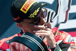 Winner Chaz Davies, Ducati Team