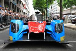 #33 Eurasia Motorsport Ligier JS P217 Gibson: Jacques Nicolet, Pierre Nicolet, Erik Maris