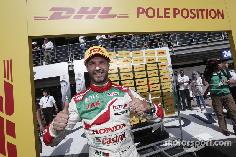 Pole position para Tiago Monteiro, Honda Racing Team JAS, Honda Civic WTCC