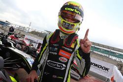 Race winner Lando Norris, Carlin, Dallara F317 - Volkswagen