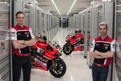 La présentation du Team Ducati