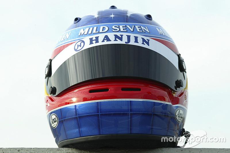 Helm von Fernando Alonso, Renault F1 Team