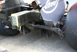 Red Bull Racing RB 13: Diffusor