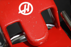 Haas F1 Team VF-17 nose detail