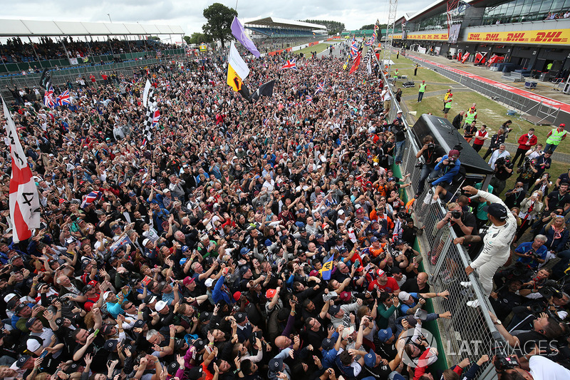 2017 Britanya GP: Lewis Hamilton, Mercedes AMG F1