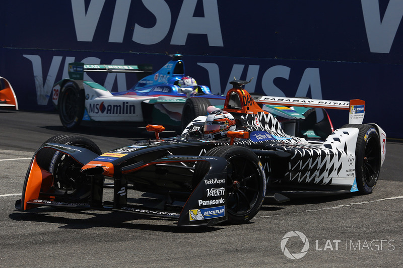 Jérôme d'Ambrosio, Dragon Racing y Antonio Felix da Costa, Amlin Andretti Formula E Team