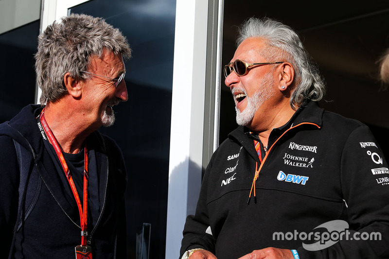 Едді Джордан, власник Sahara Force India Formula One Team Віджей Маллья