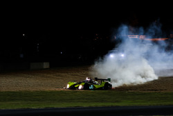 #7 Starworks Motorsports ORECA FLM09: James Dayson, Quinlan Lall, Stefano Coletti in trouble