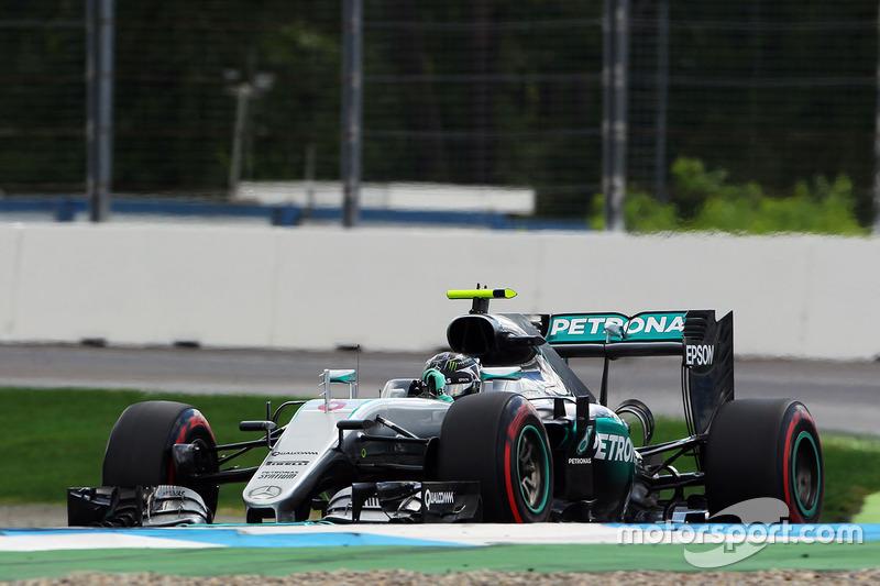 1: Ніко Росберг, Mercedes AMG F1 W07 Hybrid