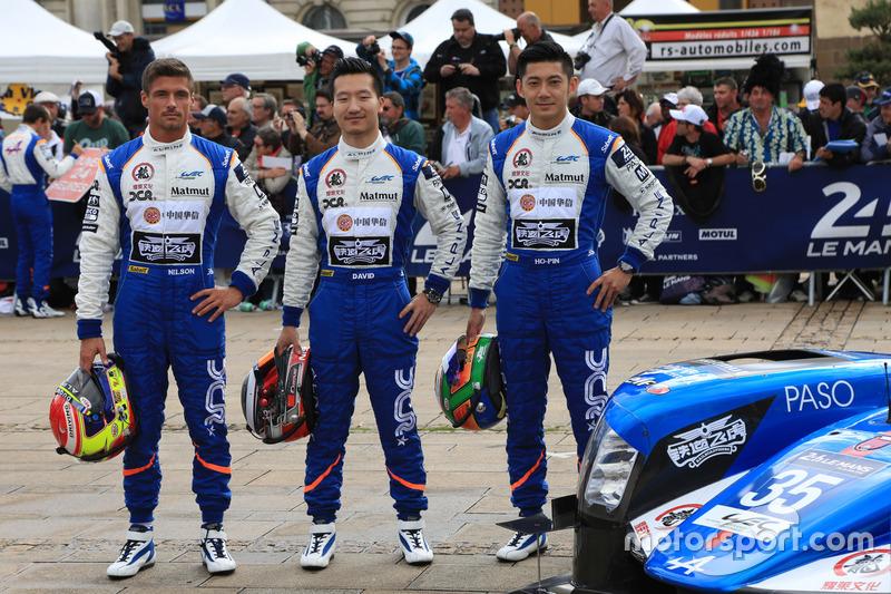 #35 Baxi DC Racing Alpine A460 - Nissan: Девід Ченг, Хо-Пін Тунг, Нельсон Панчьятіччі