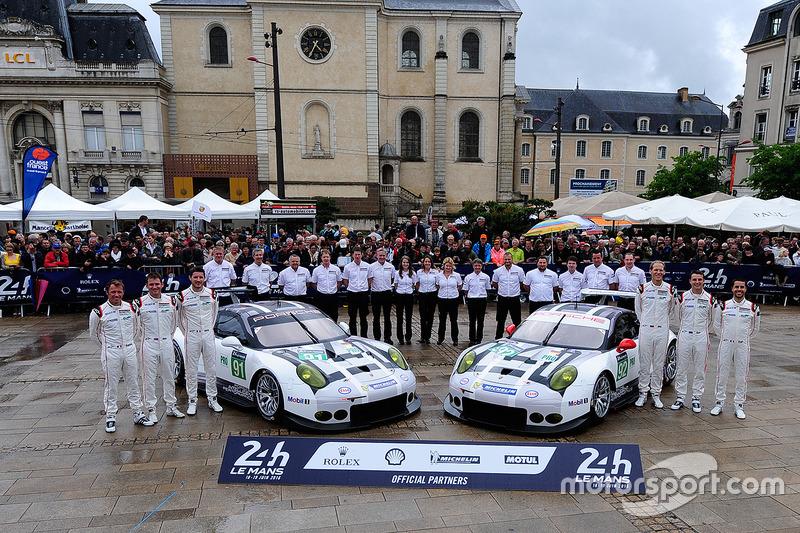 #91 und 92: Porsche Motorsport