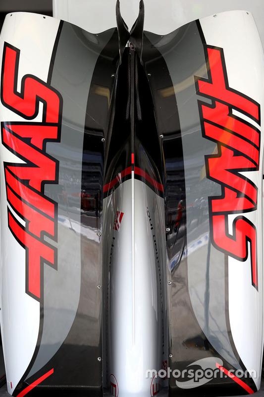 Detail des Haas F1 VF-16