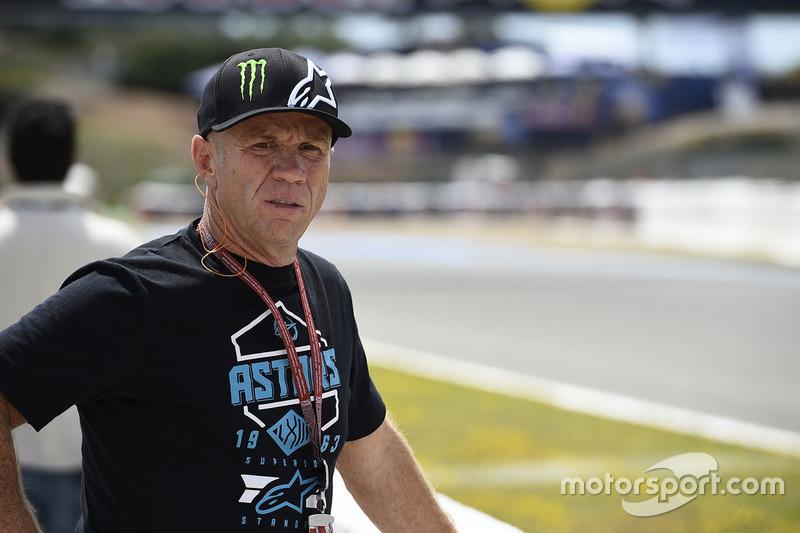 Randy Mamola, manager of Bradley Smith, Tech 3 Yamaha