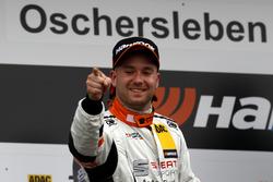 Podium: Pascal Eberle, Steibel Motorsport, SEAT Leon Cup Racer