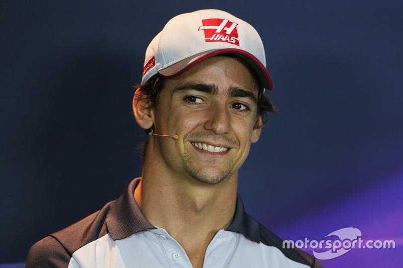 Esteban Gutierrez, Haas F1 Team, FIA Basın Toplantısı