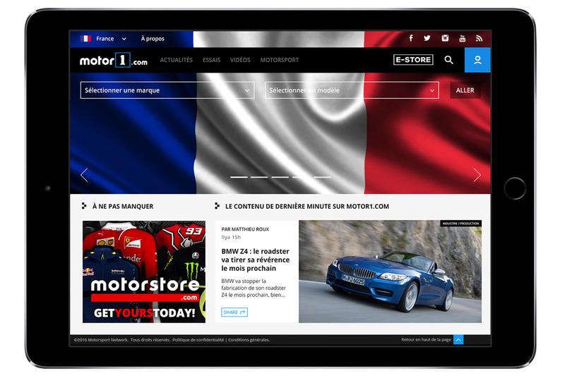 Motor1.com Frankreich