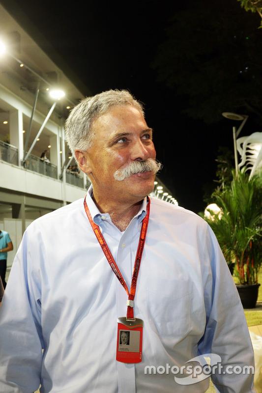 Chase Carey, Formula One Group Chairman