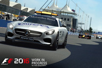 La voiture de sécurité dans F1 2016