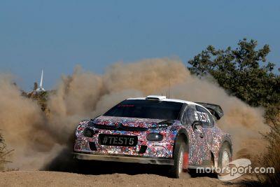 Citroën C3 WRC 2017 August testing