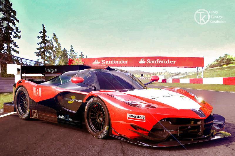 Ferrari conceito para a LMGTE-Pro em 2020