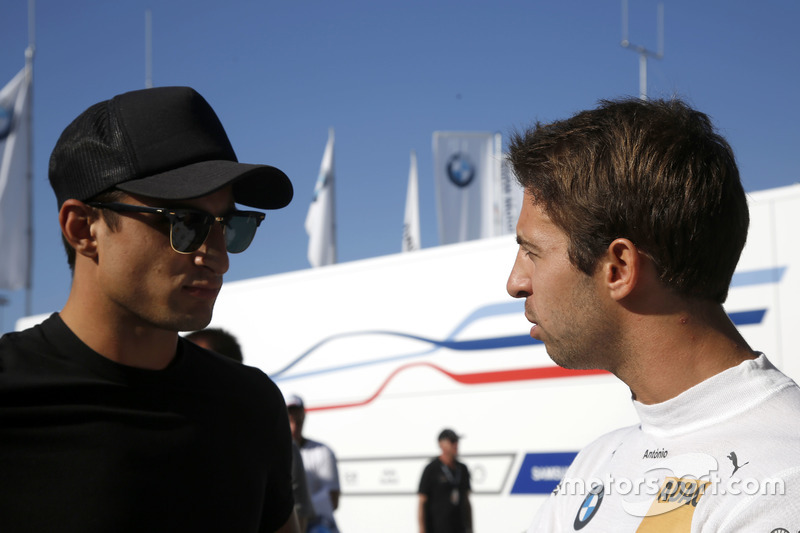 Mitch Evans e António Félix da Costa, BMW Team Schnitzer, BMW M4 DTM