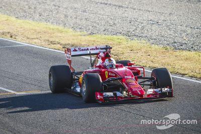 Сентябрьские тесты новых шин Pirelli: Ferrari