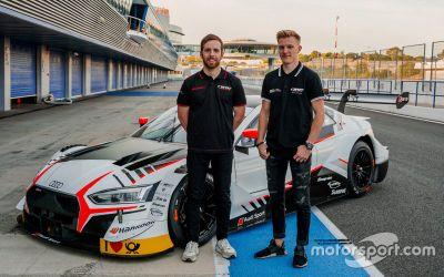 Объявление гонщиков WRT Audi