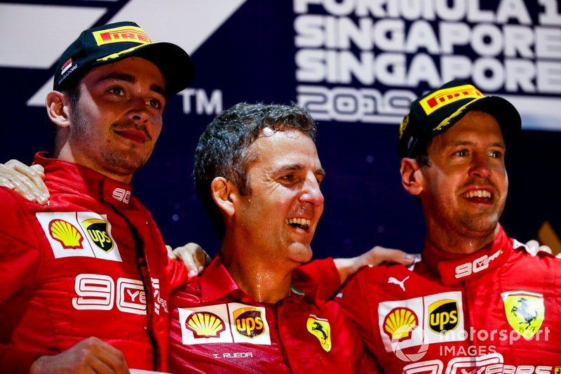 Vettel caiu e Leclerc subiu no ranking em relação a 2018