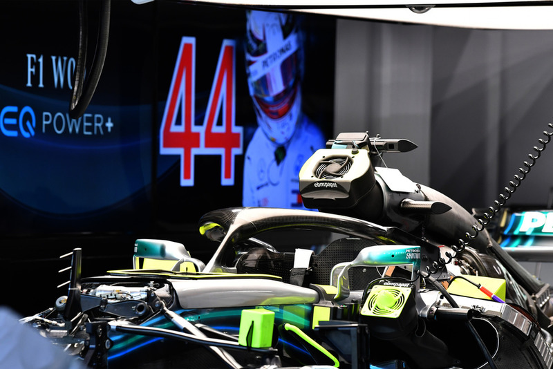 Вентиляторы охлаждения Mercedes F1 W09