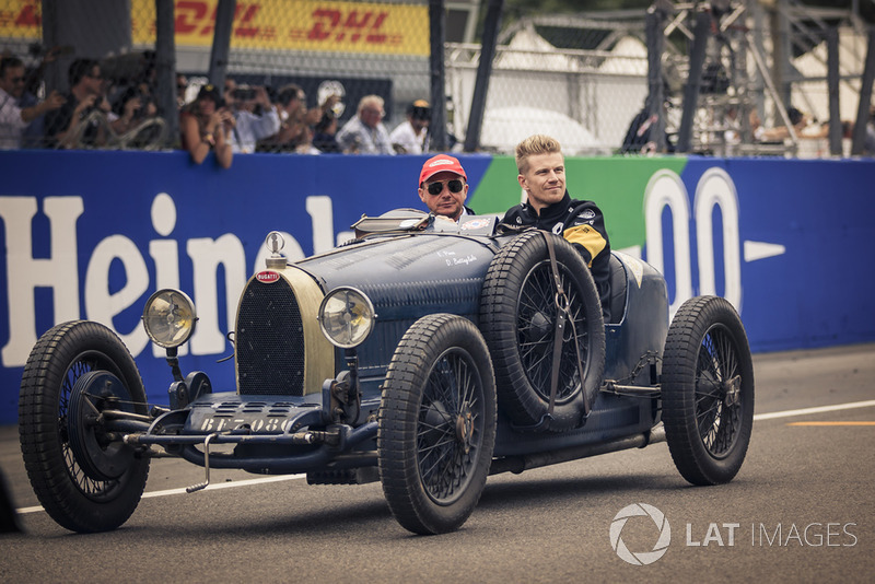 F1-es versenyzői parádé az Olasz Nagydíjról, Monzából