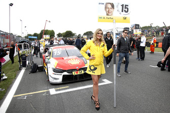 La grid girl di Augusto Farfus, BMW Team RMG