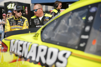 Ryan Blaney, Team Penske, Ford Fusion Menards/Knauf Insulation