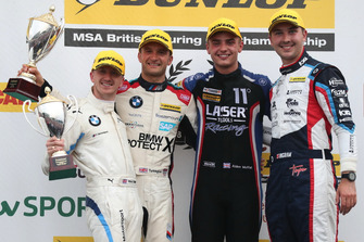 Ricky Collard, WSR BMW, Colin Turkington, WSR BMW and Aiden Moffat, Laser Tools Racing Mercedes A-Class