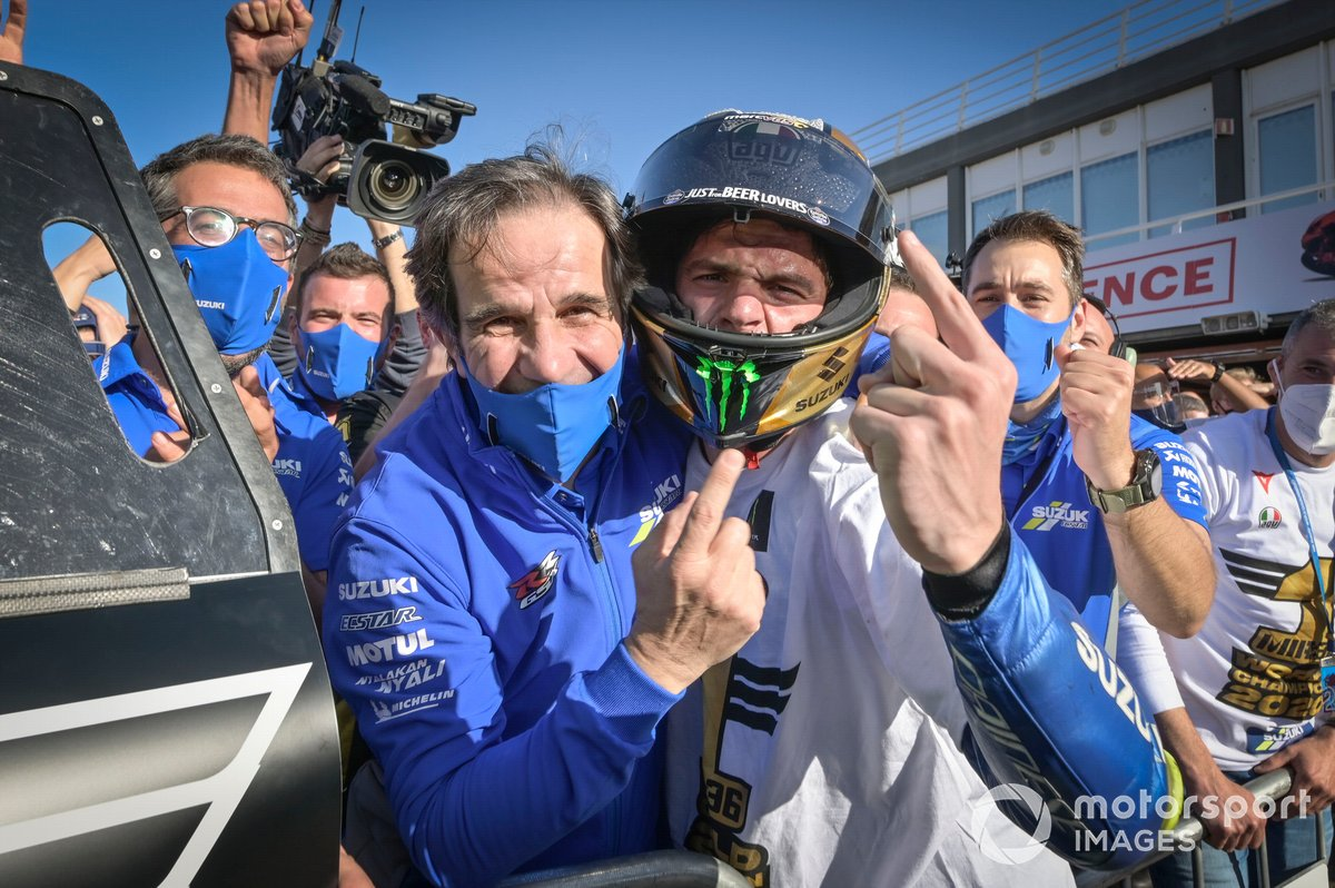 Davide Brivio, Joan Mir, Team Suzuki
